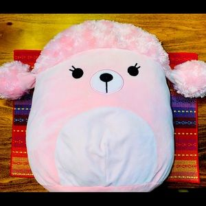 Squishmallow 12 inch Pink Poodle Chloe New
